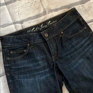 Juicy Couture low rise straight leg jeans sz 29